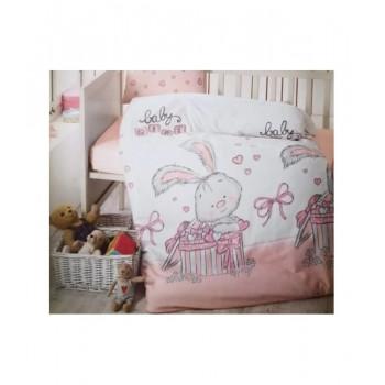 Комплект постельного белья в кроватку Brielle детский ранфорс 129V1 арт.TAC71239793