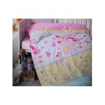 Комплект постельного белья в кроватку Brielle детский ранфорс 130V1 арт.TAC71239794