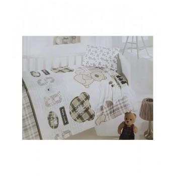 Комплект постельного белья в кроватку Brielle детский ранфорс 131V1 арт.TAC71239795