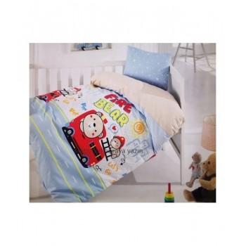 Комплект постельного белья в кроватку Brielle детский ранфорс 132V1 арт.TAC71239796