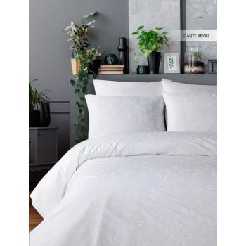 Комплект постельного белья Ecosse Ranforce семейный ранфорс арт.Dante Beyaz