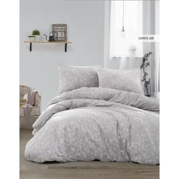 Комплект постельного белья Ecosse Ranforce семейный ранфорс арт.Dante Gri