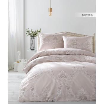 Комплект постельного белья Ecosse Ranforce семейный ранфорс арт.Elegance Bej