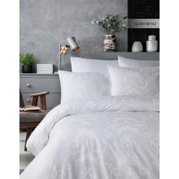 Комплект постельного белья Ecosse Ranforce семейный ранфорс арт.Glory Beyaz