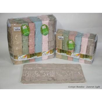 Набор полотенец для лица Cestepe Bamboo 50*90 см бамбуковые банные Zumrut Light