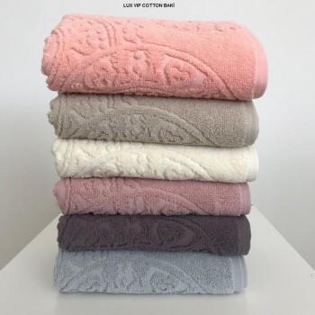 Набор полотенец для лица Cestepe MicroCotton Deluxe 50*90 см махровые банные Baki 6шт