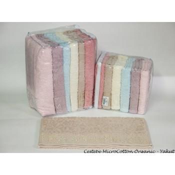 Набор полотенец для лица Cestepe MicroCotton Deluxe 50*90 см махровые банные Yakut 6шт