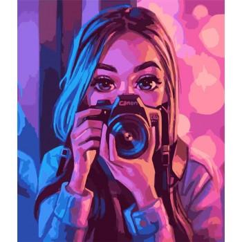 Картина по номерам ArtCraft Взгляд художника 40*50 см арт.10206-AC