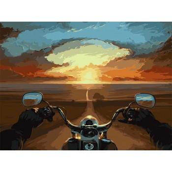 Картина по номерам ArtCraft Дорога свободы 40*50 см арт.10510-AC