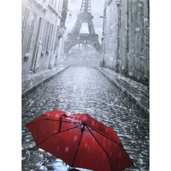 Картина по номерам ArtCraft Зонтик в Париже 40*50 см арт.11207-AC