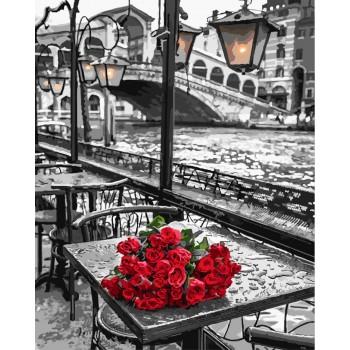 Картина по номерам ArtCraft Розы Венеции 40*50 см арт.11320-AC