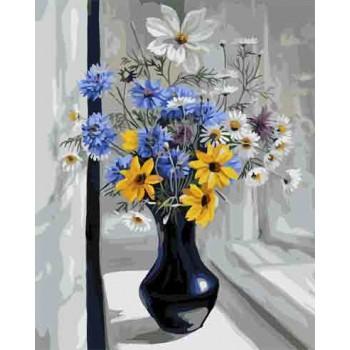 Картина по номерам ArtCraft Полевые цветы 40*50 см арт.12111-AC