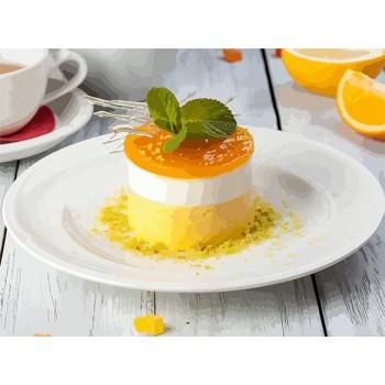 Картина по номерам ArtCraft Апельсиновый десерт 40*50 см (без коробки) арт.12007-AC