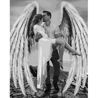 Картина по номерам Идейка Мой ангел 40*50 см (без коробки) арт.KHO4511