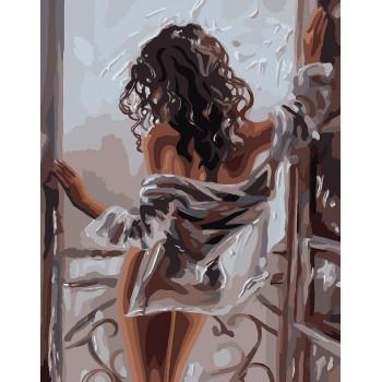 Картина по номерам Идейка Утренняя грация 40*50 см (без коробки) арт.KHO4602