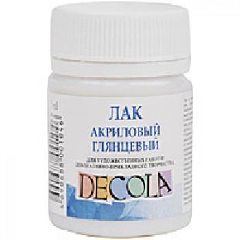 Лак Decola акриловый глянцевый 50мл арт.00-00019359