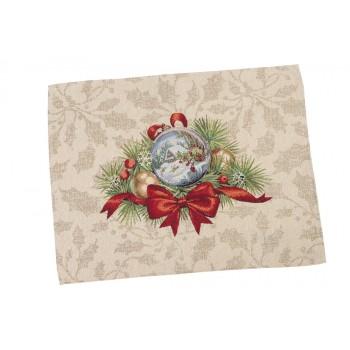 Салфетка-подкладка для кухни LiMaSo Щедрый вечер 37*49 см гобеленовая новогодняя арт.RUNNER907-49.37х49
