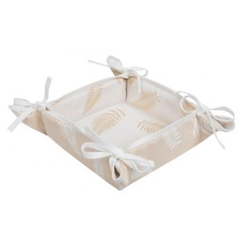 Хлебница LiMaSo 20*20 см полиэстер жаккардовая новогодняя арт.FG00-EDEN005-KH.20х20x8