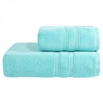 Полотенце Ideia Aqua Fiber Premium 50*90 см голубое