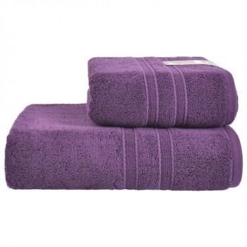 Полотенце Ideia Aqua Fiber Premium 50*90 см фиолетовое