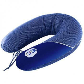 Подушка для кормления Ideia Standart 35*200 см бязь/антиаллергенное волокно арт.8000010804.горошок т/синій