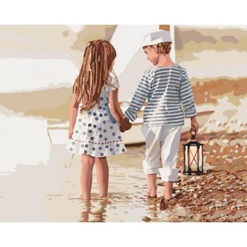 Картина по номерам Идейка Дружба 40*50 см (без коробки) арт.KHO2328