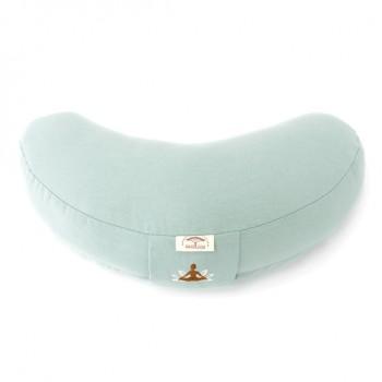 Подушка для йоги Ideia Organic 46*25 см хлопок/с гречневой шелухой арт.8000030233.м'ята