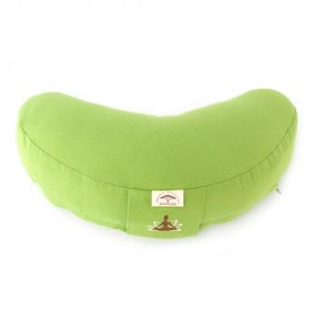 Подушка для йоги Ideia Organic 46*25 см хлопок/с гречневой шелухой арт.8000030233.салат