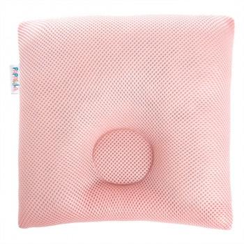 Подушка ортопедическая для новорожденных Ideia Baby 25*26 см D-7,5 см арт.8000032582.пудра