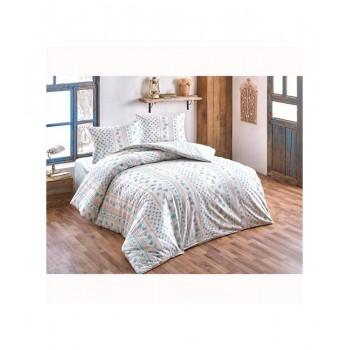 Комплект постельного белья Brielle полуторный ранфорс Gonca mavi арт.TAC60209207
