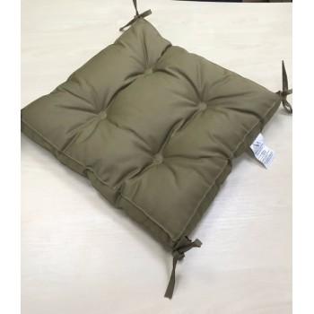 Подушка на табурет Vende Classic 40*40*5 см кофе арт.ts-02220