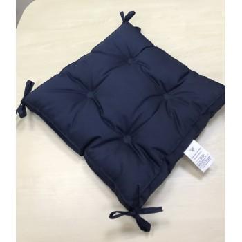 Подушка на табурет Vende Classic 40*40*5 см синий арт.ts-02243