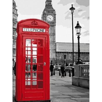 Картина по номерам ArtCraft Звонок из Лондона 40*50 см арт.11212-AC