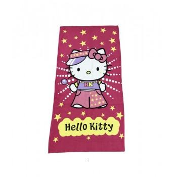 Полотенце пляжное Vende Hello Kitty велюр 75*150 см арт.ts-02179