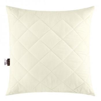 Подушка Ideia Comfort Standart+ 50*50 см микрофибра/силиконовые шарики молочная арт.8000013396.молоко