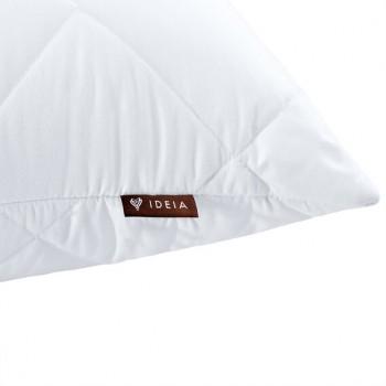 Подушка Ideia Comfort Standart 60*60 см микрофибра/силиконовые шарики белая арт.8000012270.білий