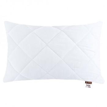 Подушка Ideia Comfort Standart 50*70 см микрофибра/антиаллергенное волокно(шарики) белая арт.8000011886.білий