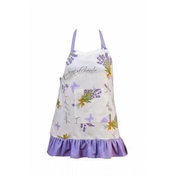 Фартук для кухни LiMaSo Белая лаванда 60*75см хлопковый детский арт.LVB05.60x75