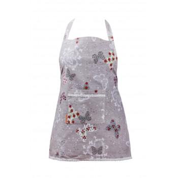 Фартук для кухни LiMaSo Бабочки и цветы №2 60*85см хлопковый арт.MTB04.60x85