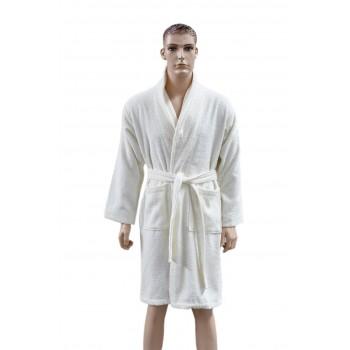 Халат Arya Miranda Soft мужской махровый с шальке р. L Экрю арт.TRK111000017468