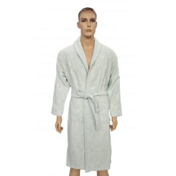 Халат Arya Misley мужской махровый с шальке р. L Мятный арт.TRK111000012047