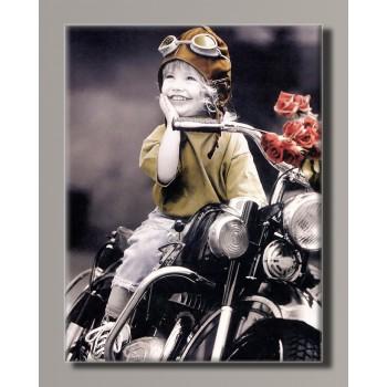 Картина (не раскраска) HolstArt Дети от Kim Anderson 42*55 см арт.HAS-432