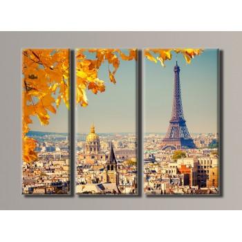 Картина модульная HolstArt Париж 54*73 см арт.HAT-070