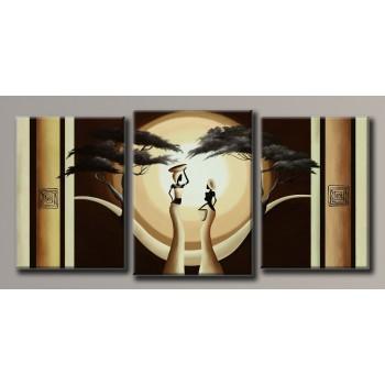 Картина модульная HolstArt Африка 76,5*162см 3 модуля арт.HAT-164