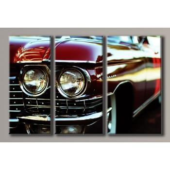 Картина модульная HolstArt Cadillac Eldorado 55*85см 3 модуля арт.HAT-132