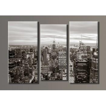 Картина модульная HolstArt New York City 54*80см 3 модуля арт.HAT-025