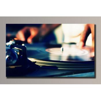 Картина (не раскраска) HolstArt DJ Max 54*32,5см арт.HAS-007