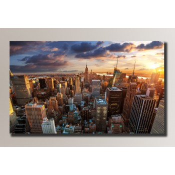 Картина (не раскраска) HolstArt New York 54*32,5см арт.HAS-014