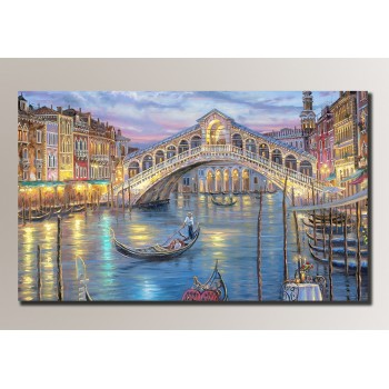 Картина (не раскраска) HolstArt Венеция 54*32,5см арт.HAS-081