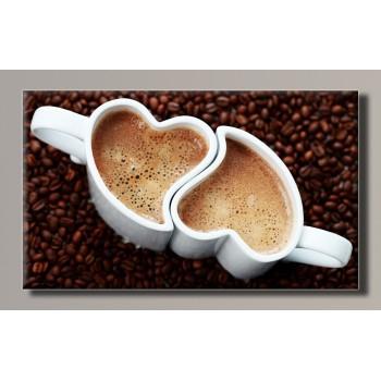 Картина (не раскраска) HolstArt Love Kafe 55*32,5см арт.HAS-134